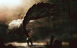 Dark Angel, Abstract, HD Wallpaper 306