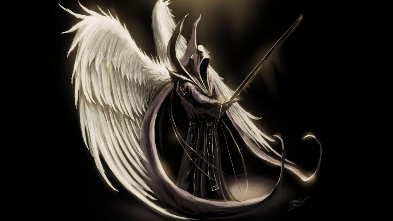 Dark Angel Lord Hd Wallpaper with 1280x720 Resolution 339