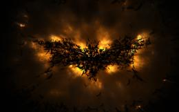The Dark Knight Rises Batman Logo abstract wallpaper | Leave a comment 621