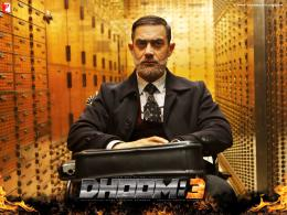 for Bollywood blockbuster action thriller Dhoom 3, starring Aamir Khan 1651