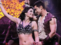 Dhoom 3 Aamir Khan And Katrina Kaif Wallpaper 929