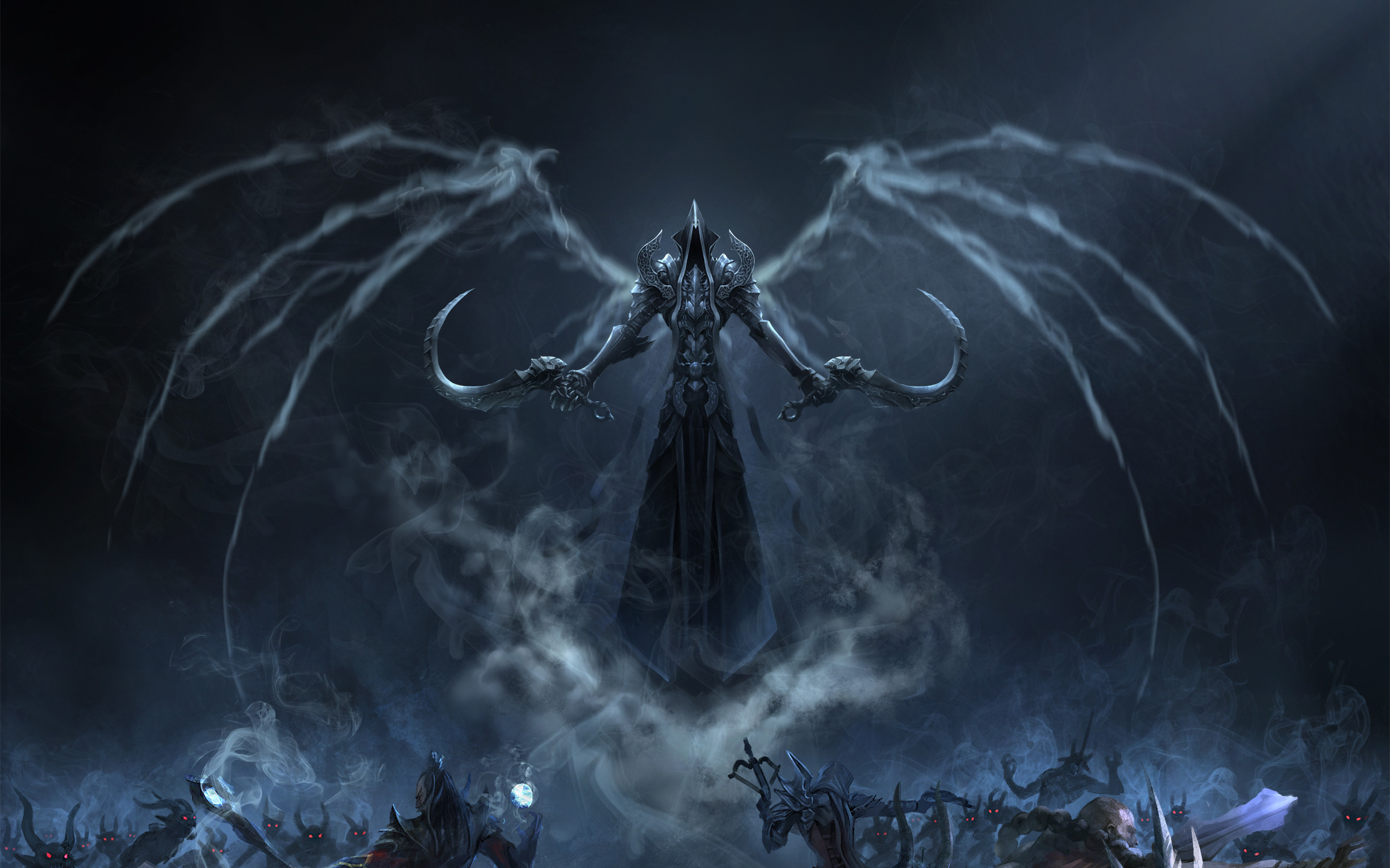 32 Diablo iii: reaper of souls, malthael, reaper, angel of ...