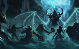 Wallpaper malthael, diablo 3, reaper of souls, barbarian, witch doctor 1429