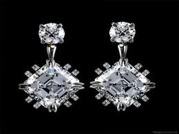 Home Jewellery Wallpapers Diamond Earrings 214