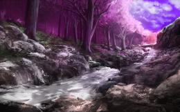 Blossom Forest Digital Art HD Wallpapers 1436