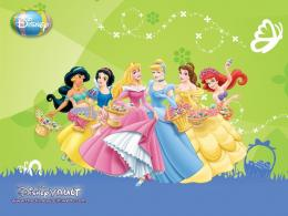 Disney Princess Beautiful Flowers 795