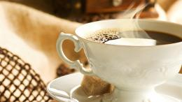 Elegant Coffee Cup Wallpaper 600
