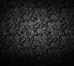Mysterious Flower Pattern Flower Flowers Elegant Desktop Wallpaper 1272