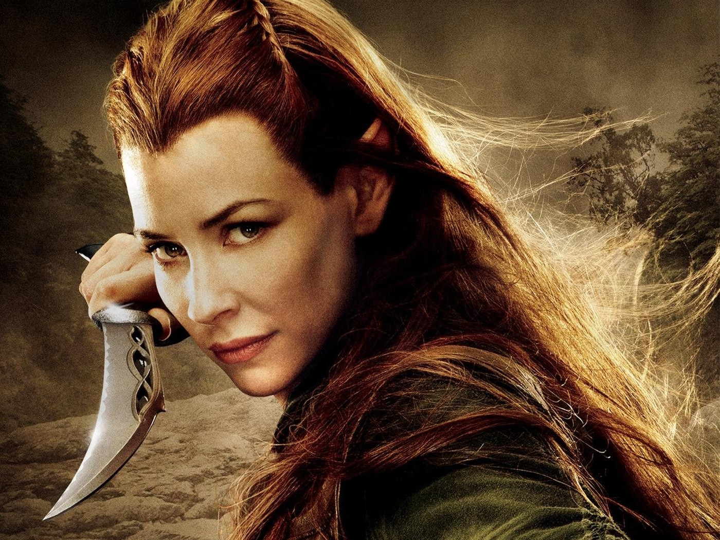 Evangeline Lilly The Hobbit Wallpapers 1258
