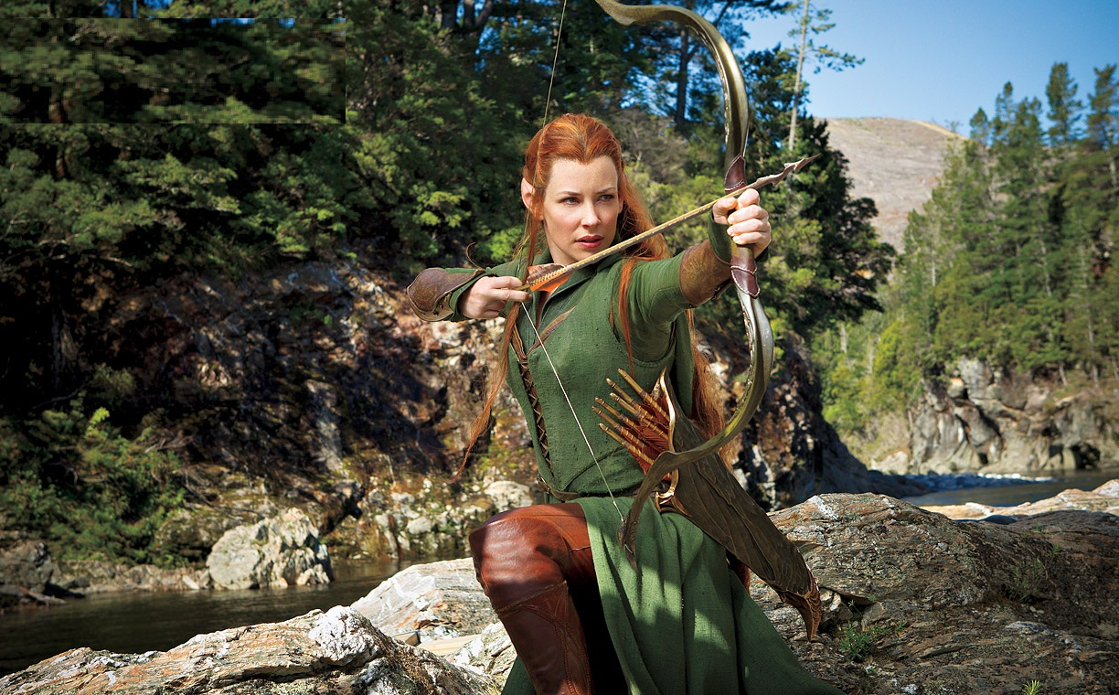 Evangeline Lilly The Hobbit Wallpapers 1241