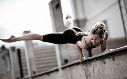 Girl Fitness Workout HD Wallpapers 1049