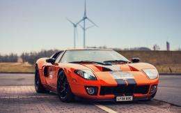 Ford GT orange supercar 940