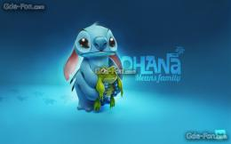 Download wallpaper Stich, Frog free desktop wallpaper in the 1215