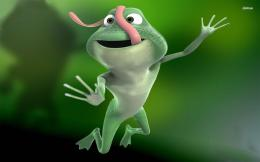 funny frog digital art desktop wallpaper download funny frog digital 1238