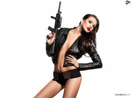 girls with guns hd wallpapers 1923