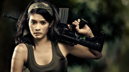 home girls army girl with gun hd wallpapers 743