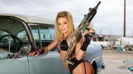 baby with Gun HD Wallpapers 849