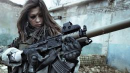 Girls With Guns HD Wallpapers 1565