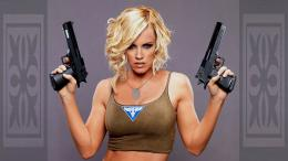Women With Guns HD Hot Wallpapers 968