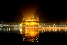 Night view of Golden Temple 1608