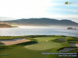 Pebble Beach Golf Course Desktop Wallpaper | Sports Geekery 1566