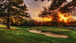 sunset golf course wide high definition wallpaper download golf couse 1325
