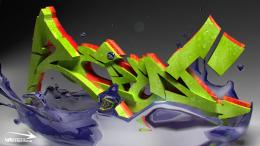 Graffiti 3d wallpapers 1091
