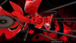 Full View and Download red graffiti Wallpaper with resolution of 861