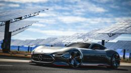 Cars Mercedes Benz AMG Vision Gran Turismo Wallpaper 1766
