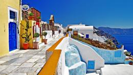 Description: The Wallpaper above is Greece oia santorini Wallpaper in 209