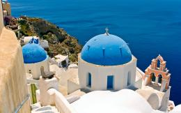 Greece Oia Santorini Hd High Definition Wallpaper with 2560x1600 622