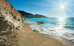 Greece beach Wallpapers Pictures Photos Images 1212