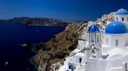 Full View and Download santorini Wallpaper 2 with resolution of 1396