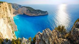 Greece HD Amazing Greek Beach Free WallpaperFullsize Wallpaper 1298