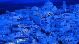 cityscapes buildings santorini islands greece HD Wallpaper of World 1194