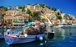 Fishing village greece Wallpapers Pictures Photos Images 838