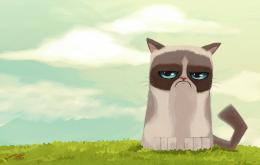 grumpy cat clipart hd download new grumpy cat cartoon free wallpaper 1883