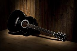 Guitar Cutaway Old Wood Background HD Guitar Music Desktop Wallpaper 688