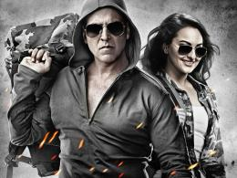 Wallpaper: akshay kumar and sonakshi sinha in holiday 2014 wallpapers 252