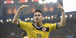 James Rodriguez Celebration Goal 2014 Wallpaper HD 539
