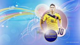 James Rodriguez FIFA World Cup 2014 Wallpaper by jeffery10 652