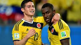 james Rodriguez Celebrations World Cup 2014 Wallpaper 1111