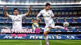 James Rodriguez 2014 Real Madrid Wallpaper 1920×1080 768