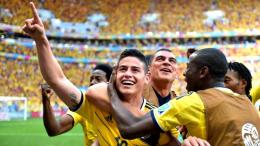James Rodriguez Celebrates Scoring World Cup 2014243 views 1495