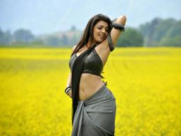 Kajal Agarwal High Definition Saree Wallpapers, Kajal Agarwal HD Saree 1956