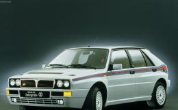 lancia delta hf integrale 8v side view 1280x1024 wallpaper Art HD 1785