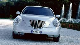 lancia thesis front side silver hd wallpapers 1689