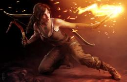 Lara Croft wallpaper 787