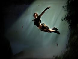 Lara Croft Wallpaper 2 by JohnnySlowhand 1025