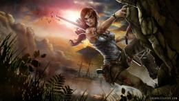 Lara Croft Concept Wallpaper 620
